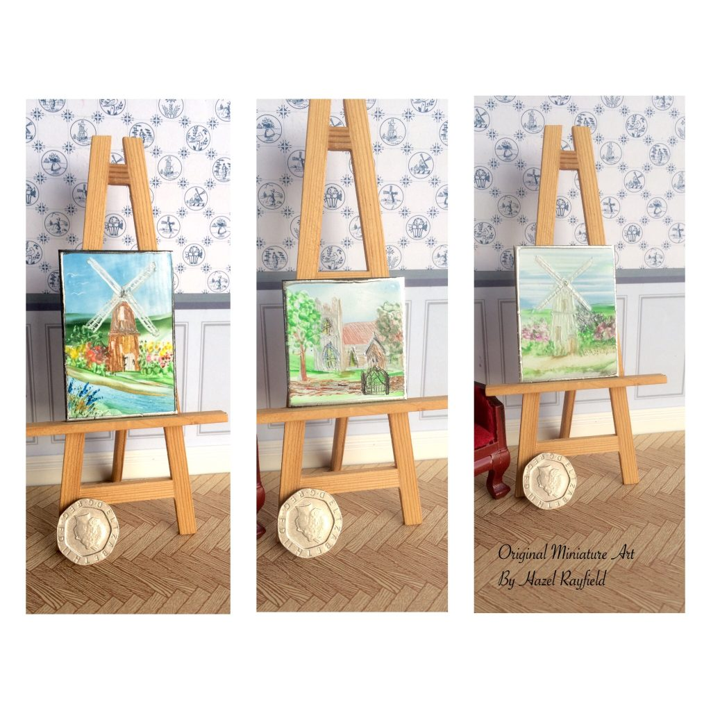 Dollhouse Windmill painting