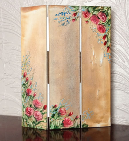 dollhouse furniture screen room divider by hazel rayfield