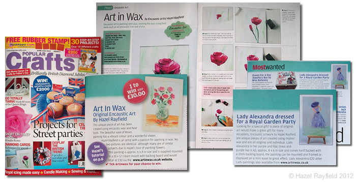 Art in wax project popular craft magazine