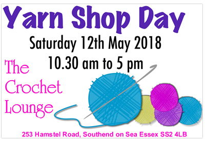 The Crochet Lounge Wool shop southend