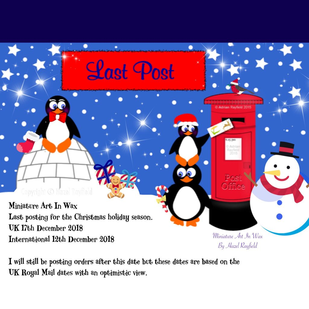 Christmas 2018 postage dates