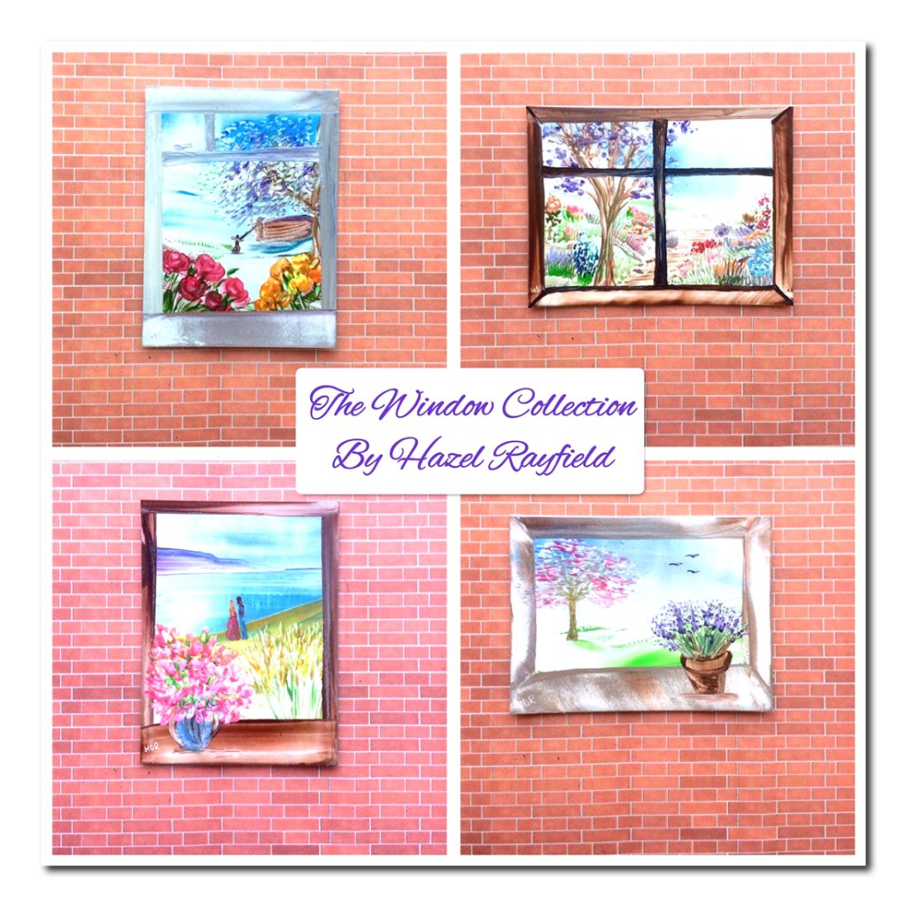 Doll House Window Paintings