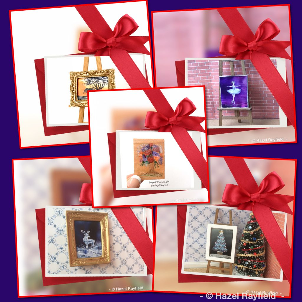 Art gifts for Christmas