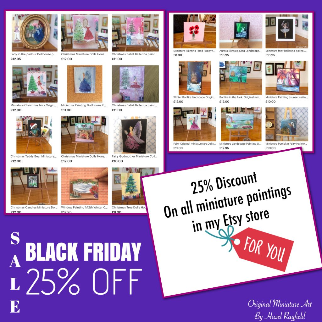 Miniature art Black Friday