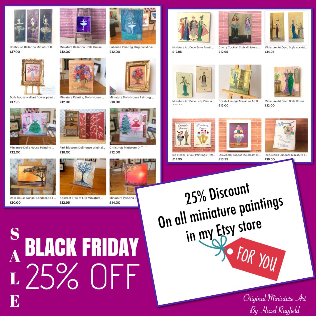 Art in wax cyber Monday offer
