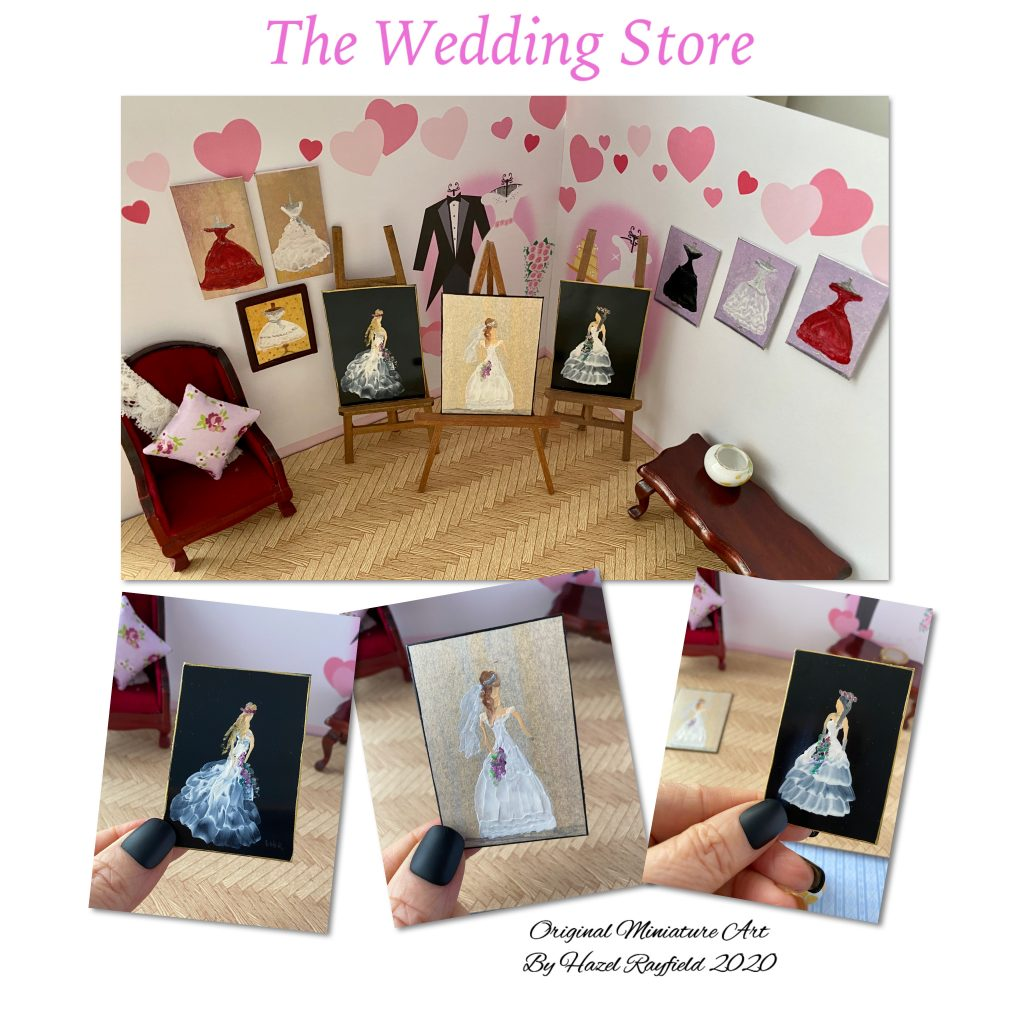 Wedding and bride paintings