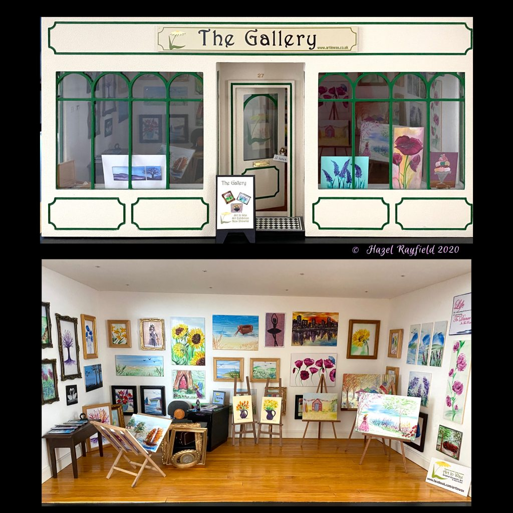 The Gallery my miniature art gallery